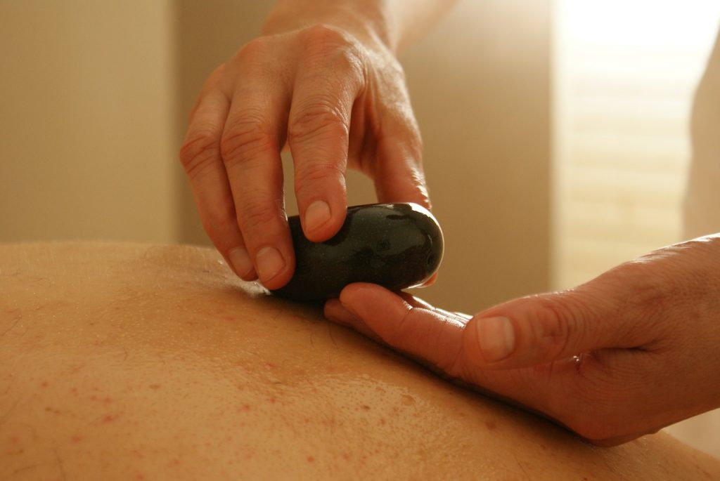 hot stone massage in atherton